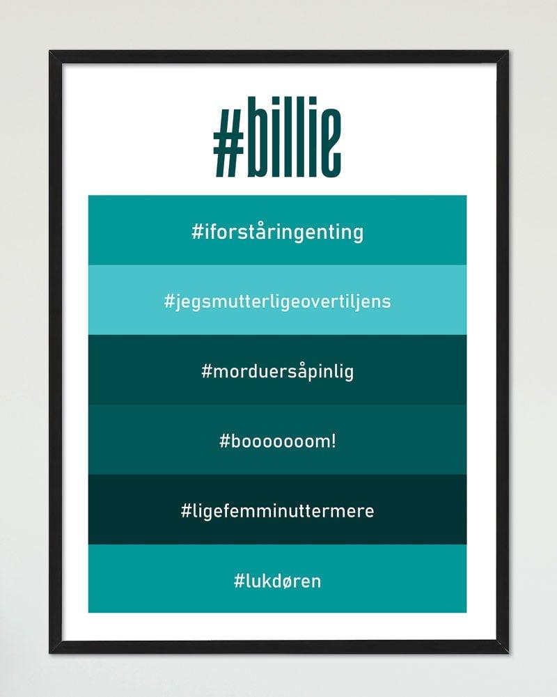 Image of   Hashtag plakat